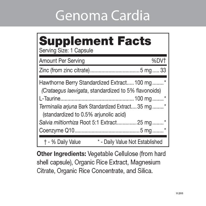 Genoma Cardia - Cardiovascular Support