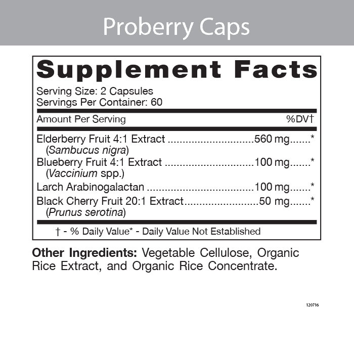 Pro Berry Caps - Cardiovascular Support