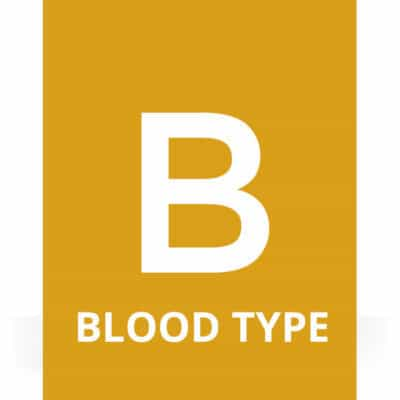 Recipe Package for Blood Type B