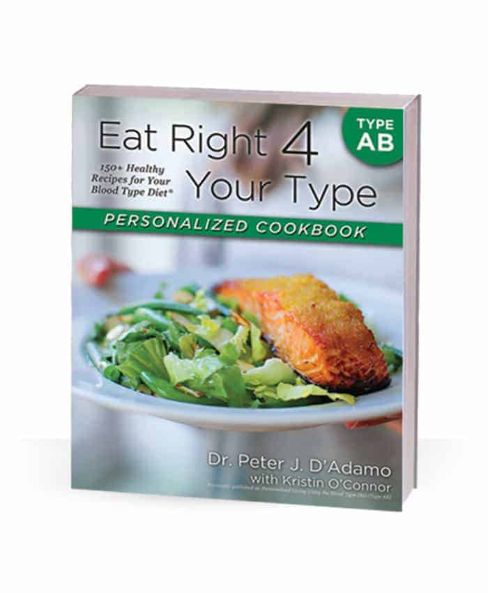 Personalized Cookbook For Blood Type AB
