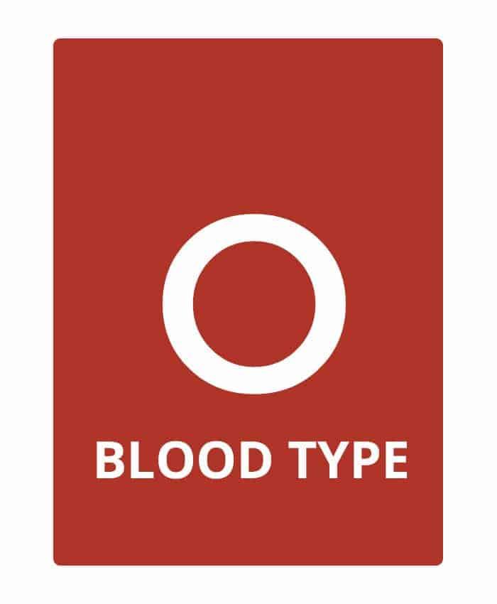 Blood Type O
